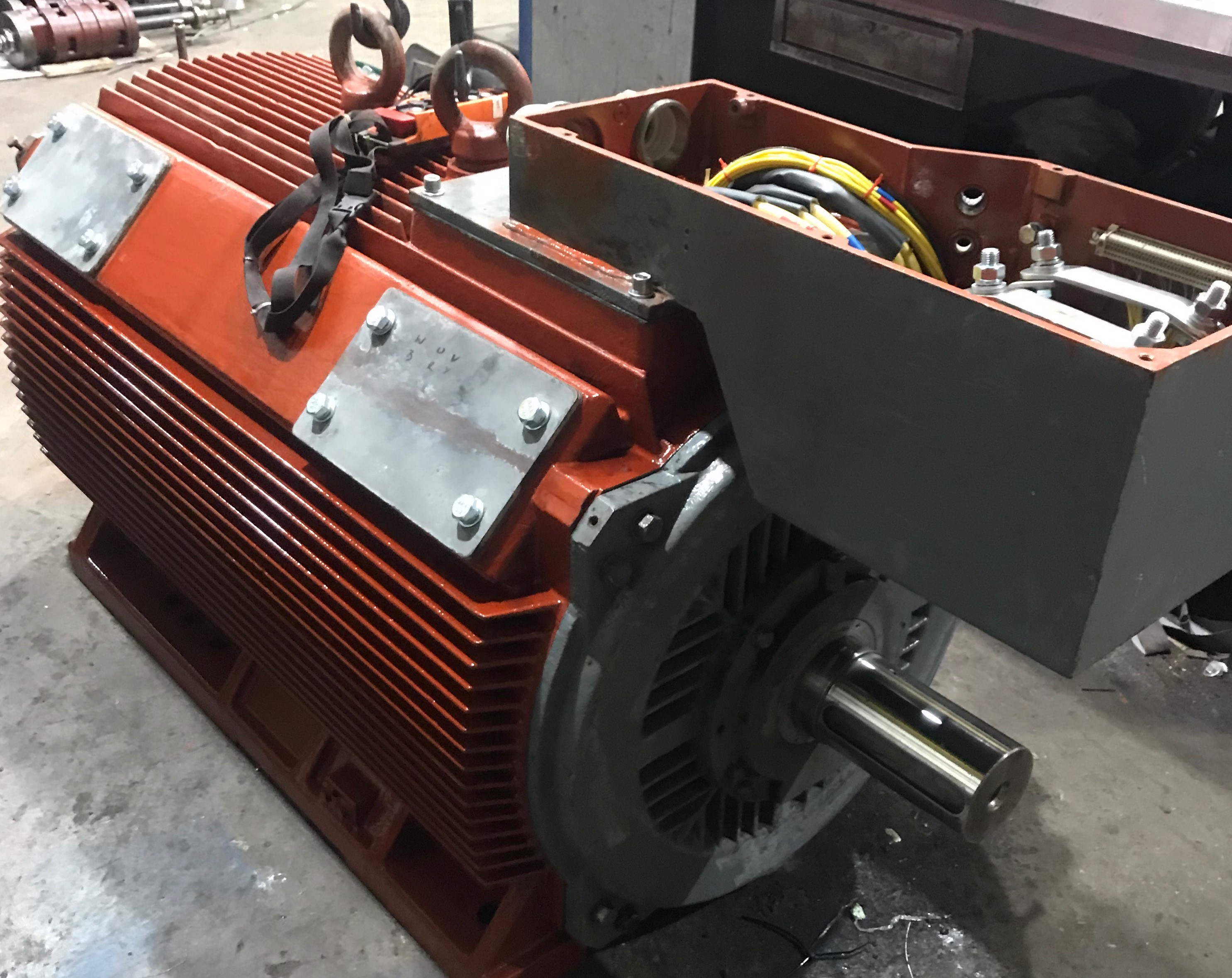 Electric Motor Repairs Merseyside - Cleveland Electrical